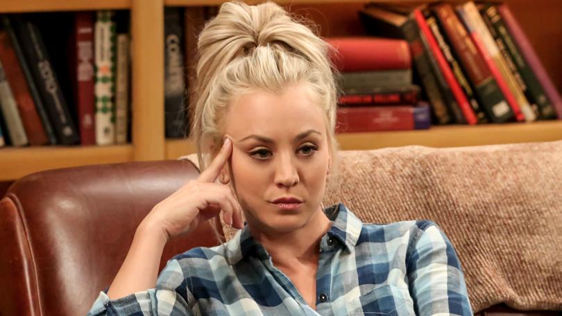 Kaley Cuoco schrok zich dood van einde The Big Bang Theory