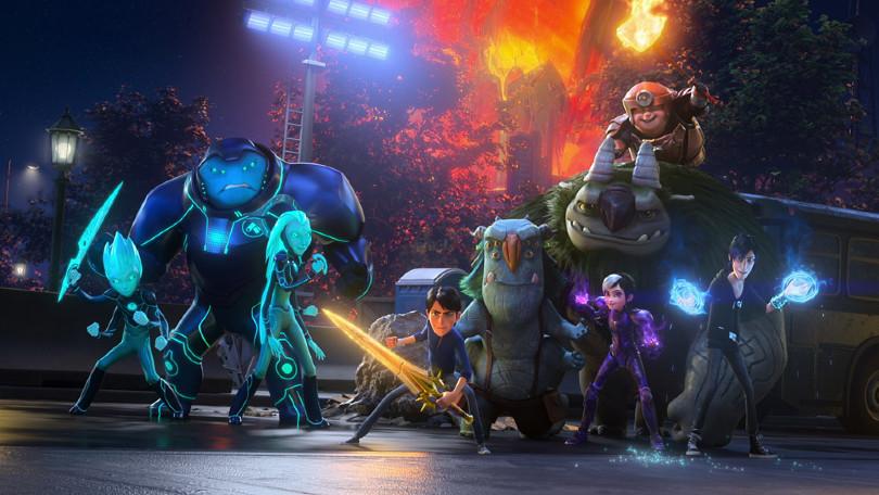 Nieuw op Netflix: Gekke animatiefilm Trollhunters: Rise of the Titans