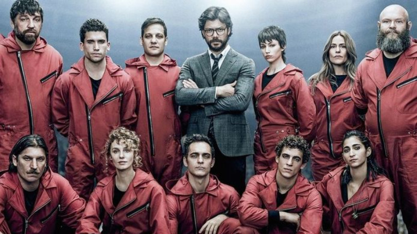 Geniale bankroversbende La Casa de Papel is terug op Netflix
